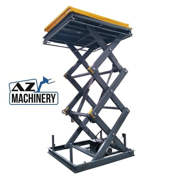 Industrial Lift Table with Elevation Scissors Brand: AZ LIFT- Type: UP 1-4.5