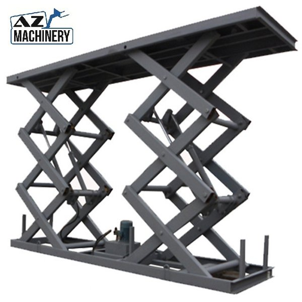 Customised Rail guard chain lift and scissor lift