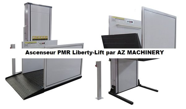 Wheelchair lift.  Liberty Lift- LXW-1.5, Capacity 250 Kg Lifting Height  1.5 m