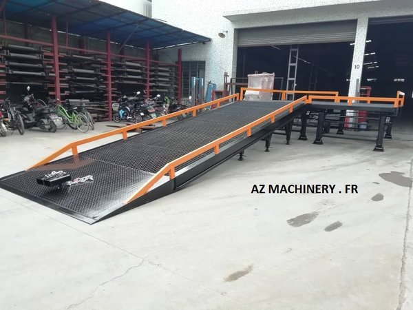 Loading Table with Dock Ramp-AZ RAMP-DISPATCH 103-44
